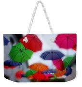 Umbrellas In The Mist Weekender Tote Bag