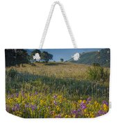 Umbria Wildflowers Weekender Tote Bag