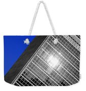 Un Building Tilted Weekender Tote Bag