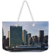 Un Buildings - Riverside Weekender Tote Bag