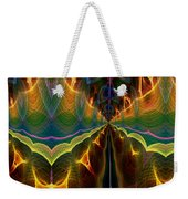 Unbalanced Mind Weekender Tote Bag