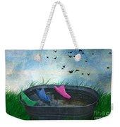 Uncharted Waters Weekender Tote Bag