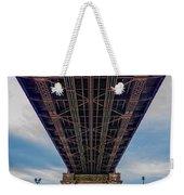 Under 59th Street Bridge Weekender Tote Bag