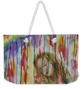 Under A Crying Rainbow Weekender Tote Bag