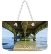 Under A Pier Weekender Tote Bag