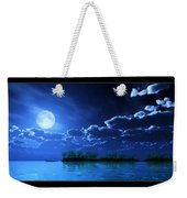 Under A Silvery Moon...artistic Effect Weekender Tote Bag