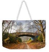Under And Over  Weekender Tote Bag by Debra and Dave Vanderlaan