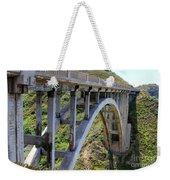 Under Bixby Bridge By Diana Sainz Weekender Tote Bag