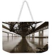 Under Bridges Weekender Tote Bag
