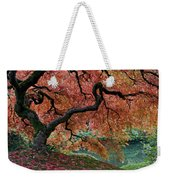 Under Fall's Cover Weekender Tote Bag