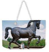 Under Leonardo's Horse Weekender Tote Bag
