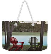 Under Muskoka Trees Weekender Tote Bag