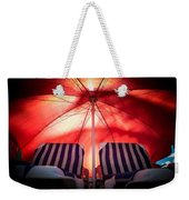 Under My Umbrella Weekender Tote Bag