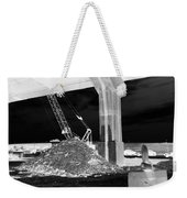 Under Pass Bw Iv Weekender Tote Bag