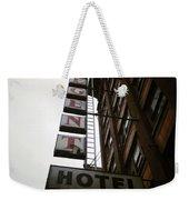 Under Regent Hotel  Weekender Tote Bag