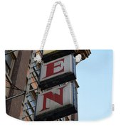 Under Regent Weekender Tote Bag