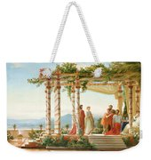 Under The Arbour Weekender Tote Bag