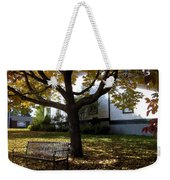 Under The Autumn Canopy Weekender Tote Bag