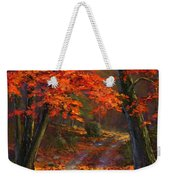 Under The Blazing Canopy Weekender Tote Bag