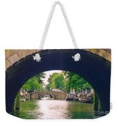 Under The Canals Weekender Tote Bag