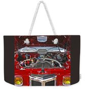 Under The Hood Weekender Tote Bag