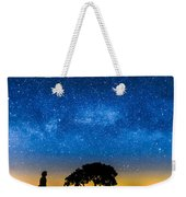Under The Milky Way II Weekender Tote Bag