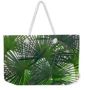 Under The Palm Tree Weekender Tote Bag