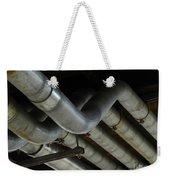 Under The Riverfront 1 Weekender Tote Bag
