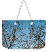 Under The Trees Weekender Tote Bag