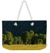 Under The Trees Weekender Tote Bag