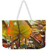 Under The Tropical Leaves Weekender Tote Bag