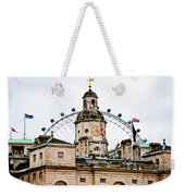 Under The Watchful Eye At Horse Guards Weekender Tote Bag