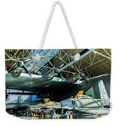 Under The Wing Of The Goose Weekender Tote Bag