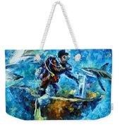 Under Water Weekender Tote Bag by Leonid Afremov