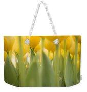 Under Yellow Tulips Weekender Tote Bag