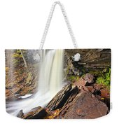 Underneath The B Reynolds Waterfall Weekender Tote Bag
