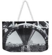 Underneath The George Washington Bridge Iv Weekender Tote Bag