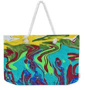 Undersea Shadows Weekender Tote Bag