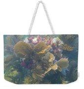 Underwater Colors Weekender Tote Bag by Adam Jewell