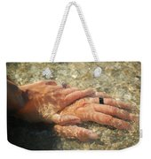 Underwater Hands Weekender Tote Bag