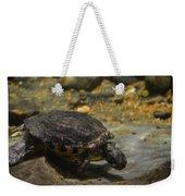 Underwater Turtle Weekender Tote Bag