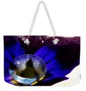 Underwater Universe Unfolding Weekender Tote Bag