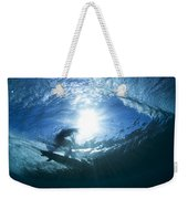 Surfing Into The Eye Weekender Tote Bag