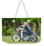 Uneasy Rider Weekender Tote Bag