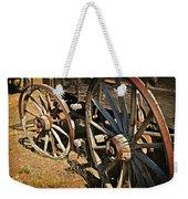Unequal Wheels Weekender Tote Bag