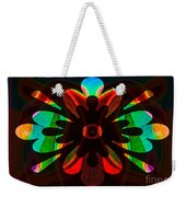 Unequivocal Truths Abstract Symbols Artwork Weekender Tote Bag