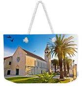 Unesco Town Of Trogir Church View Weekender Tote Bag