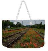 Unexpected Garden Weekender Tote Bag