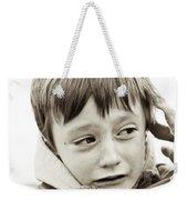 Unhappy Boy Weekender Tote Bag