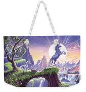 Unicorn Moon Weekender Tote Bag